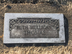 Ruth <I>Mulligan</I> Thomas