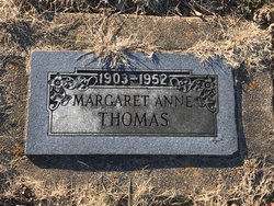 Margaret Anne Thomas
