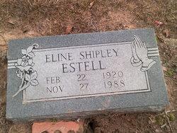 Eline <I>Shipley</I> Estell