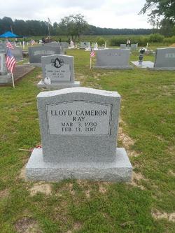 """Lloyd Cameron """"Cam"""" Ray"""