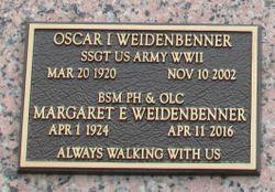 Oscar I. Weidenbenner