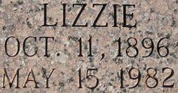 Lizzie Lee <I>Walker</I> Hudson