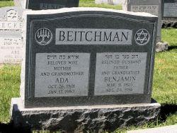 Ada <I>Jacobovitch</I> Beitchman