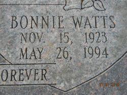 Bonnie J. <I>Watts</I> Fronce