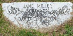 Jane <I>Scroggin</I> Bolton