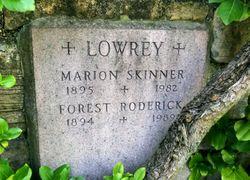 Marion Streeter <I>Skinner</I> Lowrey