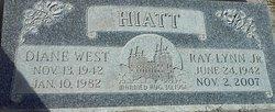 Diane <I>West</I> Hiatt