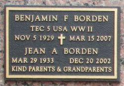 Benjamin F. Borden