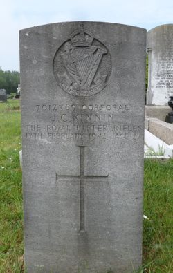 Corporal John Calvert Kinnin