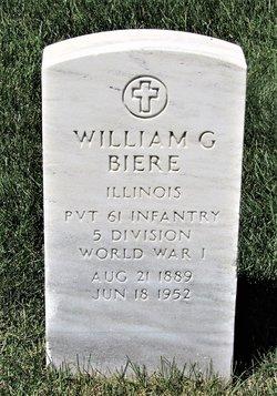 William G Biere