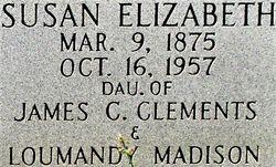 Susan Elizabeth <I>Clements</I> Files