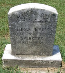 George Watson Speakman