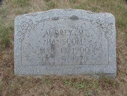 Audrey May <I>Whitman</I> Hanscom