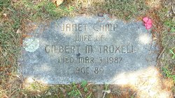 Janet <I>Camp</I> Troxell