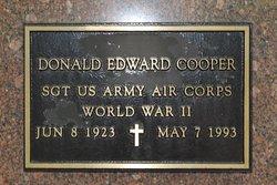 Donald Edward Cooper