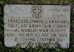 Fred Columbus Gardner