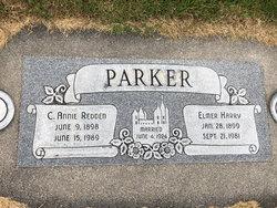 """Clara """"Annie"""" <I>Redden</I> Parker"""