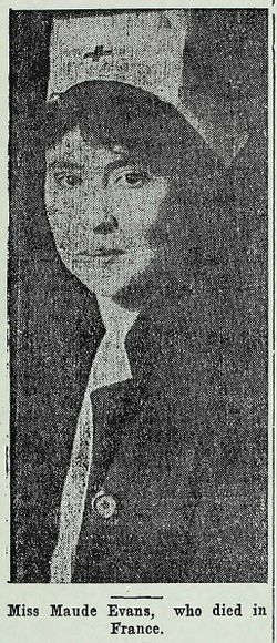 Maud M Evans