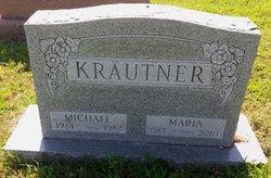 Maria <I>Boehm</I> Rether Krautner