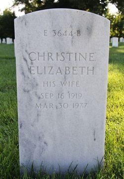 Christine Elizabeth <I>Bonta</I> Smalley