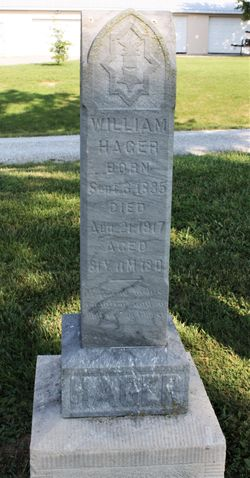 """William A. """"Uncle Billy"""" Hager"""