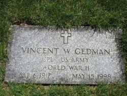 Vincent W Gedman