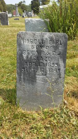 Harold Earl Glaze