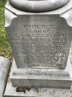 Philo S Severance