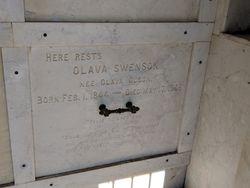 Olava <I>Olson</I> Swenson
