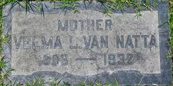 Velma Lenore <I>Sands</I> VanNatta