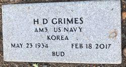 """Henry Dewayne """"Bud"""" Grimes"""