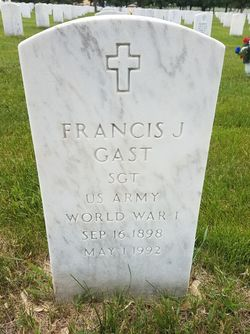 Francis J Gast