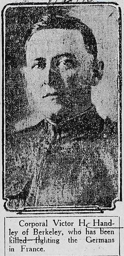 Victor Hubert Handley