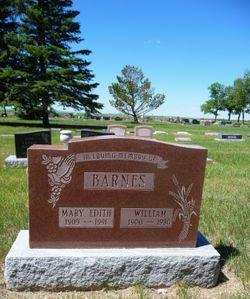 Mary Edith <I>Stevenson</I> Barnes