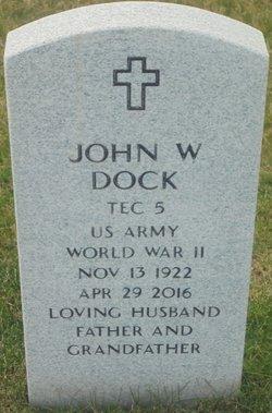 John W Dock