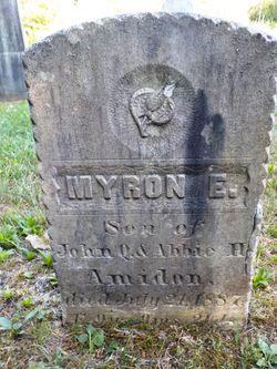 Myron E. Amadon