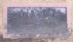Mary Ann <I>Meck</I> Eberly