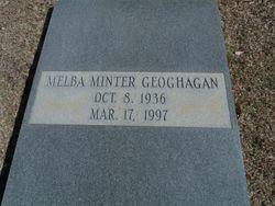 Melba <I>Minter</I> Geoghagan