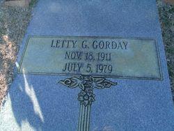 Letty G Gorday