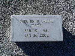 """Dorothy A """"Mema"""" Greene"""