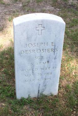 Joseph E Desrosiers