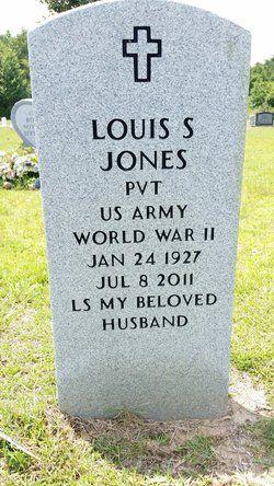 """Louis S """"L S"""" Jones"""