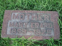Mary <I>Bourquin</I> Erard