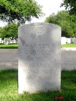 Warren F Garrison