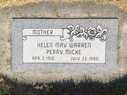 Helen May <I>Warren</I> Micke
