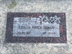 "Estella ""Stella"" <I>Hatch</I> Wixom"