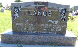 "Leslie C ""Les"" Lange"