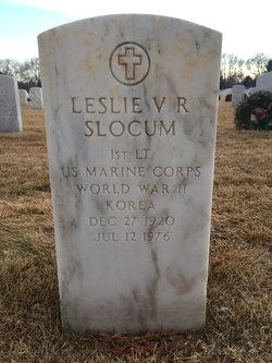 Leslie V R Slocum