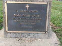 Alma Doris <I>Evans</I> Wallis