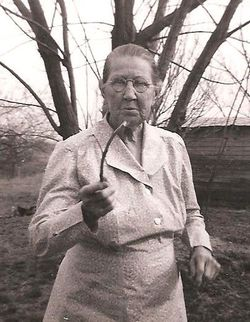 Annie E. <I>Holloway</I> Guthery